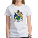 Yardley Family Crest Women's T-Shirt