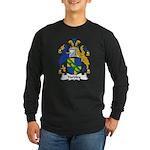 Yardley Family Crest Long Sleeve Dark T-Shirt