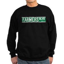 Farmers Boulevard Sign Jumper Sweater