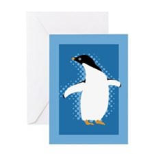 Penguin Posing Greeting Card