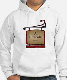 Jamie A. Malcolm Printer Jumper Hoody