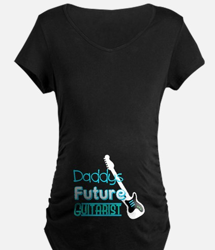 Daddys future guitarist Maternity T-Shirt