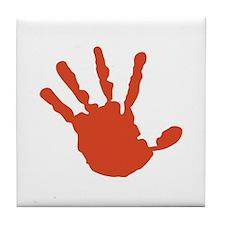 Handprint Tile Coaster