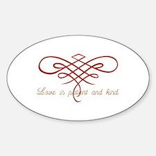 Wedding Love Quilt Decal