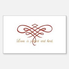 Wedding Love Quilt Decal