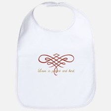 Wedding Love Quilt Bib