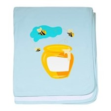 Honey Pot baby blanket