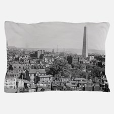 Vintage Photograph of Charlestown Mass Pillow Case