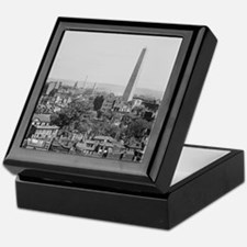 Vintage Photograph of Charlestown Mas Keepsake Box