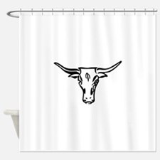 Longhorns Shower Curtain