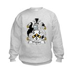 Wynger Family Crest Kids Sweatshirt