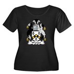 Wynger Family Crest Women's Plus Size Scoop Neck D