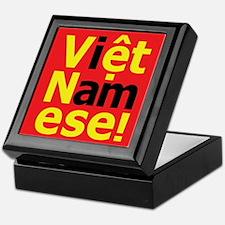 i am Viet Namese! Keepsake Box