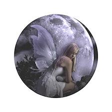 "Fairy Moon Light 3.5"" Button (100 pack)"