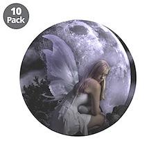 "Fairy Moon Light 3.5"" Button (10 pack)"