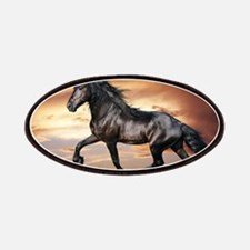 Beautiful Black Horse Patch