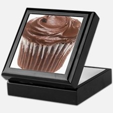 Chocolate Cupcake Keepsake Box
