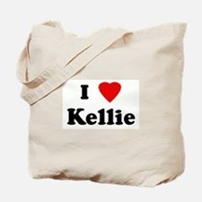 I Love Kellie Tote Bag