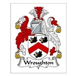 Wroughton Family Crest Small Poster