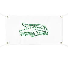 Gator Outline Banner