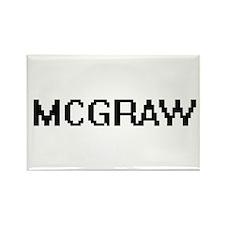 Mcgraw digital retro design Magnets