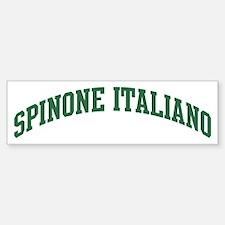 Spinone Italiano (green) Bumper Bumper Stickers