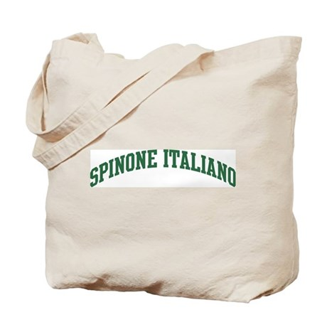 Spinone Italiano (green) Tote Bag