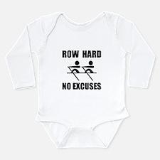 Row Hard No Excuses Body Suit