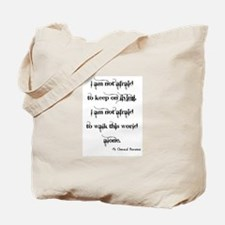 MCR Famous Last Words Tote Bag