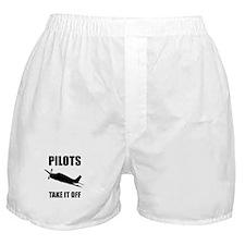 Pilots Take Off Boxer Shorts