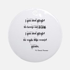 MCR Famous Last Words Ornament (Round)