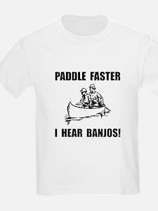 Paddle Faster Hear Banjos 2 T-Shirt