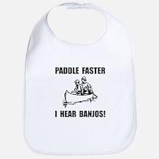Paddle Faster Hear Banjos 2 Bib