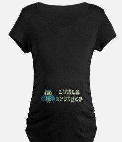 Little Brother Owl Maternity T-Shirt