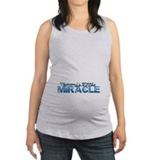 Mommys Little Miracle Maternity Tank Top