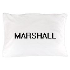 Marshall digital retro design Pillow Case