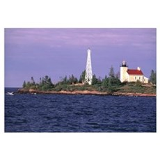 Copper Harbor Lighthouse Poster