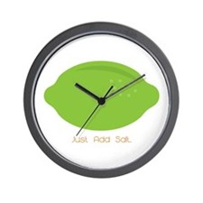 Just Add Salt Wall Clock
