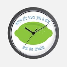 Look For Tequila Wall Clock