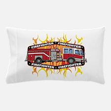 Fire Engine Truck Pillow Case