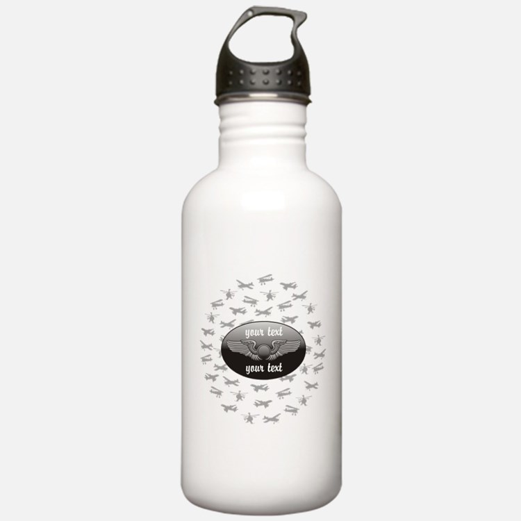 Personalized Aviation Water Bottle