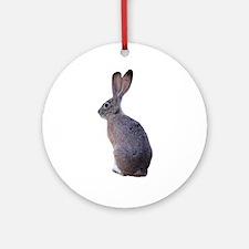 Blacktailed Jackrabbit Ornament (Round)