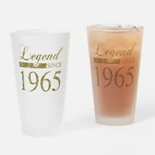 Legend Since 1965 Drinking Glass
