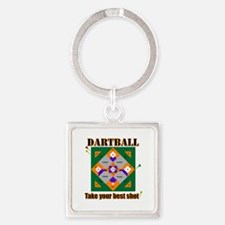 Dartball Board Keychains