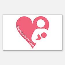 Breastfeeding is Love Decal