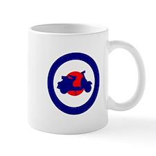 Mod Bulls Eye Mugs