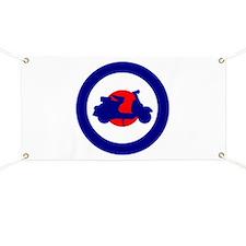 Mod Bulls Eye Banner