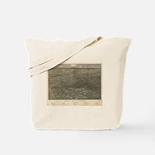 Vintage Pictorial Map of Denver Colorado  Tote Bag