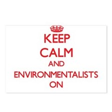 ENVIRONMENTALISTS Postcards (Package of 8)