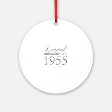 Legend Since 1955 Round Ornament